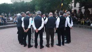 Il Coro polifonico Sant'Isidoro e della Fanfara del 3° Reggimento Bersaglieri della Brigata Sassari protagonisti ieri sera a Teulada, alla Festa della Musica.