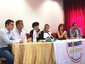 Questa mattina i consiglieri regionali del Gruppo Movimento 5 Stelle, a Tramatza, hanno incontrato attivisti e simpatizzanti.