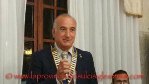 Il tenente colonnello Orazio Sechi è il nuovo presidente del Rotary Club di Carbonia.