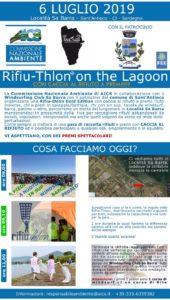 """Si terrà il 6 luglio, a Sant'Antioco, l'iniziativa di pulizia del litorale in località """"Sa Barra"""": """"Rifiu-thlon Gold Edition""""."""