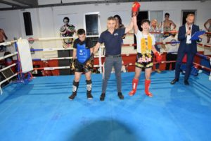 La Muay thai l'ha fatta da padrona alla quarta edizione del Fight club championship, disputato nei giorni scorsi al Tarantini Fight Club di via Venezia (Sassari).