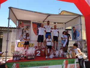 Roberto Cesaro ha concesso il bis nella cronometro del Giro delle Miniere.