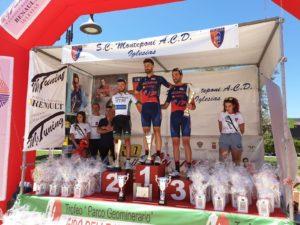 Roberto Cesaro ha vinto anche la terza tappa del Giro delle Miniere.