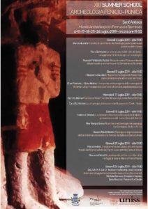 """A partire dal mese di luglio, a Sant'Antioco, prenderà avvio la XIII edizione della """"Summer School di Archeologia Fenicio-Punica""""."""
