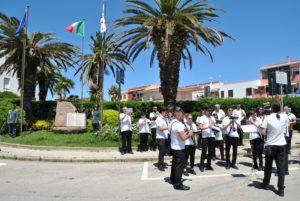 A Stintino è stata celebrata la ricorrenza del 2 giugno con le musiche della Banda Luigi Canepa.