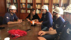 A pochi giorni dalla visita svolta presso lo stabilimento Eurallumina, a Portovesme, si è svolto oggi un nuovo incontro tra la RSU e l'assessore dell'Industria Anita Pili, a Cagliari.