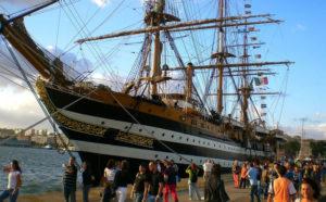 La nave scuola Amerigo Vespucci farà sosta a Cagliari dal 21 al 23 giugno. Torna dopo tre anni a farsi ammirare nel porto del capoluogo sardo.