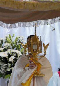 """Sabato 22 e domenica 23 giugno, a Carbonia, si svolgeranno le processioni religiose del """"Corpus Domini""""."""