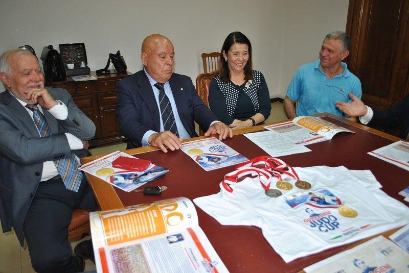 """È stata presentata questa mattina, a Sassari, la quinta edizione della """"Guido Sieni Judo Cup""""."""