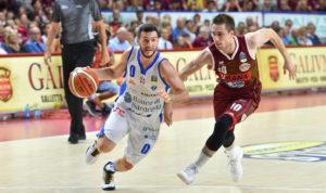 Una Dinamo in serata no è uscita sconfitta dal Taliercio di Mestre, 78 a 65 (primo tempo 38 a 34), in Gara5 della finale scudetto.
