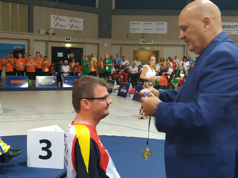 Assegnate le prime medaglie al BISFed Boccia Regional Open di Olbia.