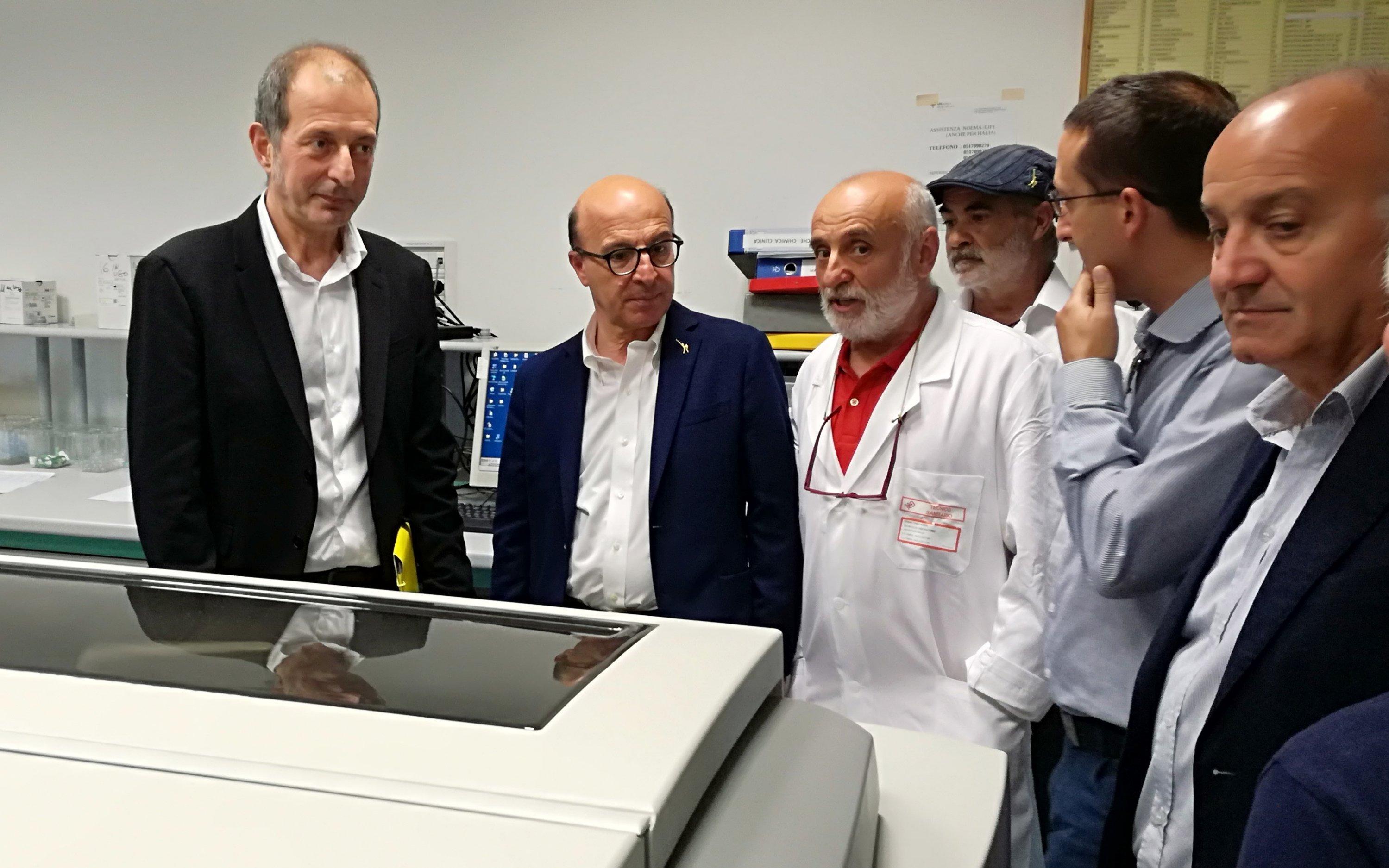 L'assessore regionale della Sanità stamane ha visitato gli ospedali di Tempio Pausania, La Maddalena ed Olbia.