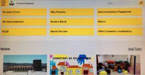 E' online il nuovo sito istituzionale del comune di Carbonia.