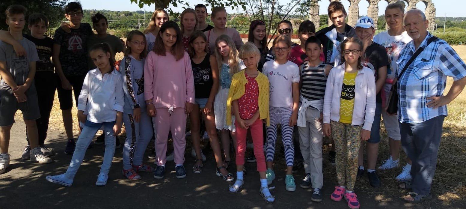 Arriva oggi in Sardegna il primo gruppo dei bambini bielorussi del Progetto Chernobyl.