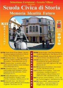 """Mercoledì mattina, ad Iglesias, verrà presentata la XII edizione della Scuola Civica di Storia, intitolata """"Memoria, Identità, Futuro""""."""