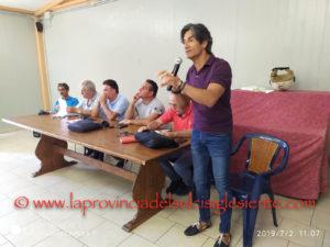 Il saloncino dell'Oratorio parrocchiale San Giovanni Bosco, nella parrocchia di San Ponziano, a Carbonia, ha ospitato stamane l'assemblea dei lavoratori ex Alcoa.
