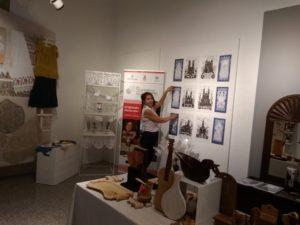 La 58ª Fiera dell'Artigianato Artistico della Sardegnadi Mogoro ha quest'anno tra gli ospiti lo stand dedicato allaBielorussia.