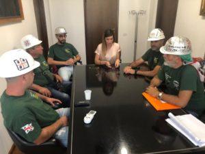 Stamane l'assessore regionale dell'Industria Anita Pili ed il direttore generale dell'assessorato, Giuliano Patteri, hanno incontrato la RSU dell'Eurallumina.