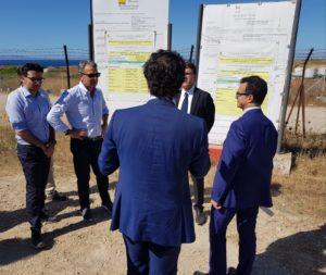 Gianni Lampis: «La Regione segue con attenzione e scrupolo il processo di bonifica dell'area industriale di Porto Torres».