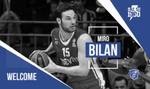 Primo colpo di mercato per la nuova Dinamo, alla corte di Gianmarco Pozzecco arriva il centro croato Miro Bilan.