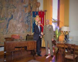 Il sindaco di Cagliari ha ricevuto stamane la visita del comandante del Comando Militare Esercito Sardegna, si rafforzano i rapporti istituzionali.