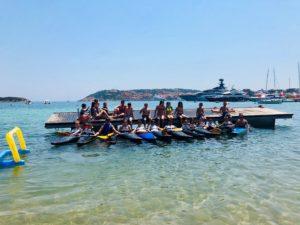 Una settimana alla scoperta del mondo della canoa con la Società Canottieri Ichnusa e Smeralda Holding, al Canoa Kayak for Children Camp.