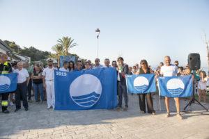 """Ieri sera si è svolta la cerimonia di inaugurazione della stagione """"Bandiera Blu"""", a Maladroxia."""