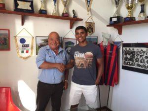 La Monteponi ha messo a segno un altro colpo di mercato: dal Serramanna arriva il centrocampista brasiliano Felipe Yago Silva Soares.