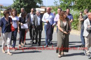 La commissione Salute e Politiche sociali del Consiglio regionale, ha iniziato questa mattina il sopralluogo programmato nei tre ospedali del Sulcis Iglesiente e nell'ospedale di San Gavino Monreale.