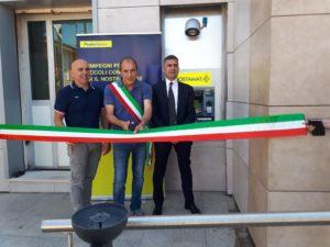 E' stato inaugurato oggi l'ATM Postamat di Masainas.