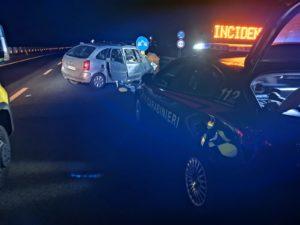 """Grave incidente stradale sulla SS 131 all'altezza di Monastir, due persone si trovano ricoverate in codice rosso al """"Brotzu"""" e al """"SS Trinità""""."""