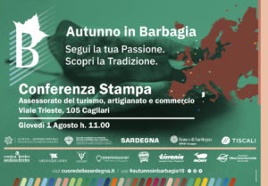 """Verrà presentata giovedì 1 agosto, all'assessorato regionale del Turismo, l'edizione 2019 di """"Autunno in Barbagia"""","""