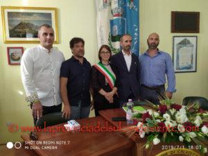 Si è insediato questa sera il nuovo Consiglio comunale di Calasetta, eletto lo scorso 16 giugno.