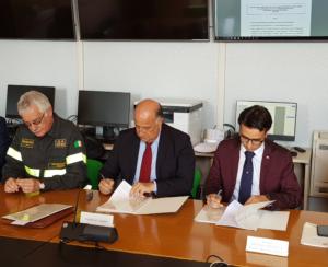 E' stata firmata stamane la convenzione tra la Regione Sardegna ed i Vigili del fuoco per la campagna antincendio 2019.