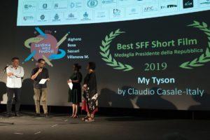 Ieri sera, al cinema Miramare di Alghero, si è svolta la cerimonia di premiazione del Sardinia Film Festival 2019.