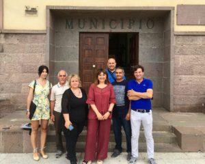 Il sindaco di Carbonia, Paola Massidda, ha ricevuto i presidenti dei Comitati di quartiere ed ha augurato loro un buon lavoro.