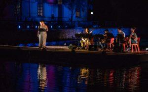 Grande successo ieri sera, nel Parco di Molentargius, per lo spettacolo Bentu de Notas, al suo debutto.