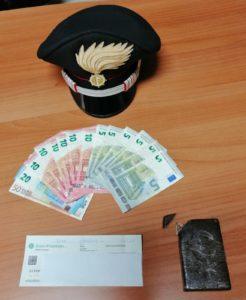 Ieri sera i carabinieri della stazione di Pirri hanno arrestato un 25enne di Cagliari, sorpreso in via Canalis in possesso di 100 grammi di hashish.