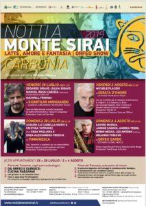 """Verrà presentata domani mattina, a Carbonia, la rassegna """"Notti a Monte Sirai 2019""""."""