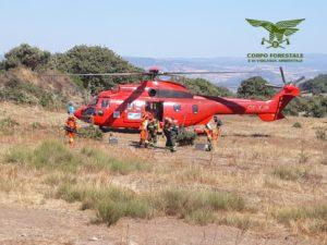 Sono in corso le operazioni di spegnimento di tre incendi nel territorio regionale.