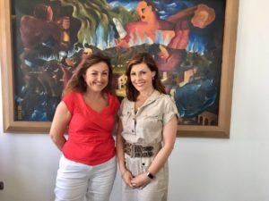 La giornalista di Al Jazeera Barbara Serra è arrivata a Carbonia per realizzare un documentario sulla storia della città.