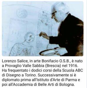 Dal 6 all' 8 settembre, a San Pietro di Sorres – Borutta, prenderà il via il secondo vernissage di pittura dedicato al maestro Lorenzo Salice (Bonifacio O.S.B.).