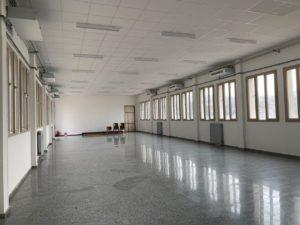 """L'Istituto """"Sebastiano Satta"""" di via della Vittoria, a Carbonia, è ormai quasi pronto per accogliere studenti e insegnanti in vista dell'imminente inizio del nuovo anno scolastico."""