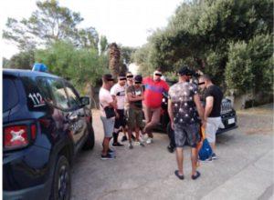 Ennesimo sbarco di migranti nordafricani questa mattina, a Porto Pino.