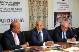 """E' stata presentata stamane, all'assessorato regionale del Turismo, l'edizione 2019 di """"Autunno in Barbagia""""."""