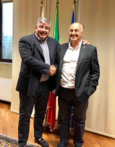 Stamane l'assessore regionale degli Enti locali ha incontrato l'amministratore straordinario della provincia di Sassari.