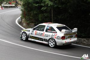 """Dopo il """"Trofeo Fagioli"""", il portacolori della Porto Cervo Racing Ennio Donato (Ford Escort Cosworth) prenderà il via alla 62ª Salita Monti Iblei."""