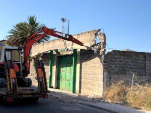 Al via, a Sant'Antioco, i lavori di ristrutturazione ed adeguamento dello stadio comunale di via Amerigo Vespucci.