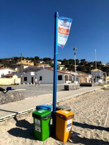 I vigili urbani di Sant'Antioco hanno sanzionato un villeggiante per l'utilizzo improprio dell'isola ecologica in località Maladroxia.