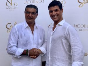 A Porto Cervo il ricchissimo evento Jacob&Co, organizzato per il terzo anno consecutivo dall'imprenditore sassarese Claudio Rotunno.